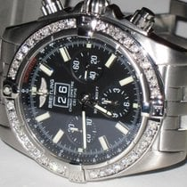 Breitling Blackbird Steel 44mm Black No numerals United States of America, New York, NEW YORK CITY