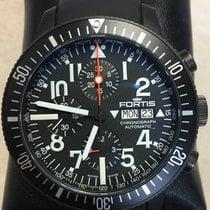 Fortis B-42 Black Titanium 42mm Black Arabic numerals
