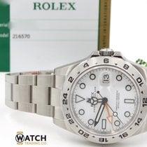 롤렉스 Rolex Explorer II white dial 216570