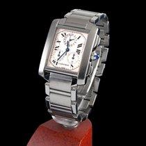 Cartier Tank Francaise Steel Chrono Quartz