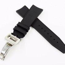 萬國 New 22/18mm Rubber Strap Silicon Replacement Band for IWC...