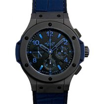 Hublot Big Bang Black Ceramic All Black Blue (Лимитированная...