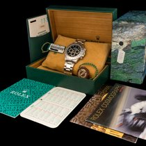 Rolex Daytona 16520 Black Dial With Box & Papers In New...
