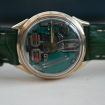 Bulova Spaceview M6 Cal 214 10KT Gold Filled Waterproof Tuning...