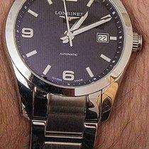 Longines CONQUEST CLASSIC Date Full Steel Black Dial 40mm...