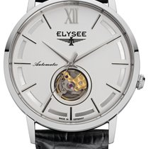 Elysee Steel Automatic Silver No numerals 41,5mm new