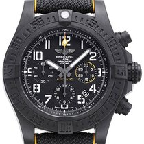 Breitling Plastic Automatic Black No numerals 45mm new Avenger Hurricane