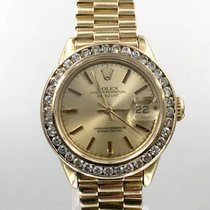 Rolex Ladies President Datejust Diamond Bezel