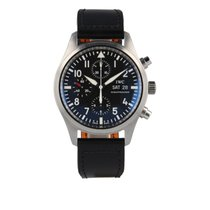 "IWC Pilot Chronograph IW 371701  ""Never Polished"""