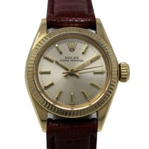 Rolex Oyster Perpetual Lady 6718 Automatic Yellow Gold 18 Kt...