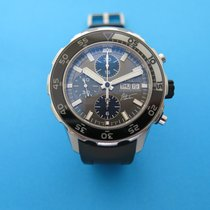 IWC Chronograph 44mm Automatic pre-owned Aquatimer Chronograph Grey