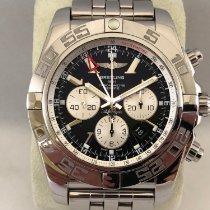 Breitling Chronomat GMT Acier 47mm Noir