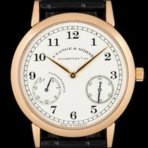 A. Lange & Söhne Rose gold 36mm Manual winding 221.032 pre-owned United Kingdom, London