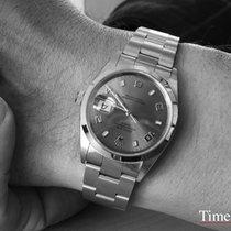 Rolex Oyster Perpetual Date подержанные 34mm Бронзовый Дата Сталь