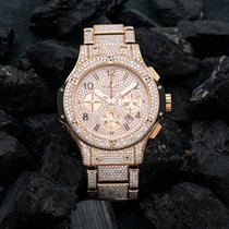 Hublot Big Bang 44 mm Rose gold 44mm Gold No numerals United States of America, New York, NewYork