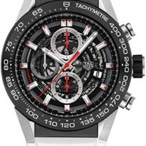 TAG Heuer Carrera Calibre HEUER 01 Steel 45mm No numerals