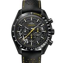 Omega Speedmaster Professional Moonwatch Керамика 44.25mm Черный Без цифр