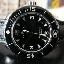Blancpain Fifty Fathoms Steel 45mm Black Arabic numerals