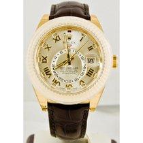 Rolex Yellow gold 42mm new Sky-Dweller