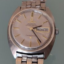 Omega Constellation Day-Date Steel 35mm Silver No numerals