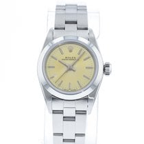 Rolex Oyster Perpetual Steel 26mm Champagne