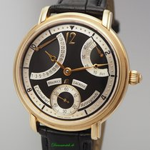 Maurice Lacroix Red gold Manual winding Black 43mm pre-owned Masterpiece