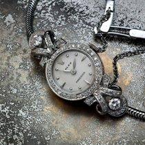 롤렉스 화이트골드 수동감기 샴페인색 18mm 중고시계 오이스터 프리시전
