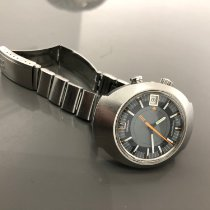 Omega Memomatic Steel 40mm Grey No numerals United States of America, New York, Brooklyn