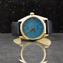 Rolex Oyster Perpetual 6564 Very good Yellow gold 34mm Automatic