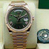 Rolex Day-Date 40 Oro rosado 40mm Verde España, Barcelona