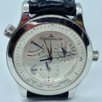 Jaeger-LeCoultre Master Geographic Stahl 39mm Silber Schweiz, lugano