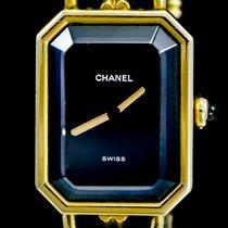 Chanel Première Steel 20mm Black No numerals
