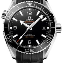 Omega Seamaster Planet Ocean Steel 43.5mm Black United States of America, New York, Airmont