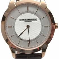 Baume & Mercier Ouro rosa 41mm Corda manual 8794 usado