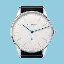 NOMOS Orion 38 Steel 38mm White No numerals