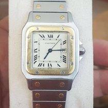 Cartier Santos Automatic Gold Steel