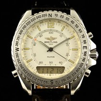 Breitling - New Pluton Chronograph- A51038 - Men - 1990-1999