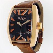Locman PANORAMA AUTOMATICO ROSE GOLD R.152 RETAIL $8,900