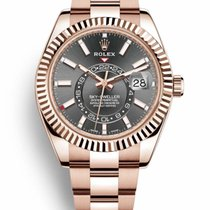 Rolex Sky-Dweller Rose gold 42mm Grey No numerals United States of America, California, Newport Beach, Orange County