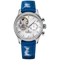 Zenith El Primero Chronomaster Lady Steel 38mm Mother of pearl United States of America, Pennsylvania, Holland
