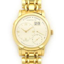A. Lange & Söhne Yellow Gold Lange 1 Bracelet Watch Ref. 101.021