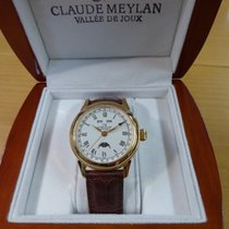 Claude Meylan 39mm Manual winding new White