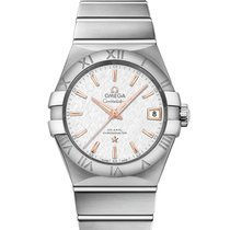 Omega Constellation Men Steel 38mm Silver
