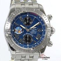 百年靈 Chronomat Evolution Limited Edition Blue Impulse A13356