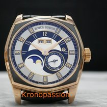 Roger Dubuis new Automatic Display Back Genevian Seal Quick Set Only Original Parts 44mm Rose gold Sapphire crystal