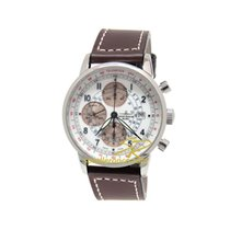 Zeno-Watch Basel Chronograph 42mm Automatic 2014 pre-owned White