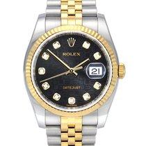 Rolex Datejust Gold/Steel 36mm Black No numerals United Kingdom, Manchester