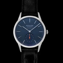 NOMOS Steel 38.5mm Automatic 343 new United States of America, California, San Mateo