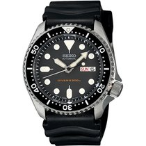Seiko SKX007K1 Steel 2018 Prospex 42mm new