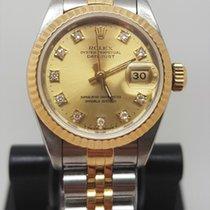 Rolex Guld/Stål 26mm Automatisk 69173 begagnad